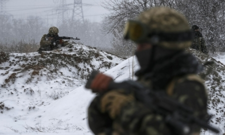 Атака бойовиків на Дебальцеве