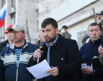 Проголошення бойовиками Луганської народної республіки